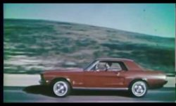 8 Ford Mustang Commercials from 1967