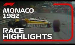 1982 Monaco Grand Prix: Race Highlights