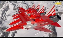 Flying with the Patrouille Suisse