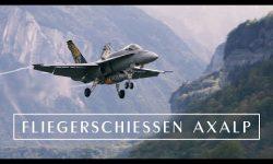 Swiss Air Force : Fliegerschiessen Axalp