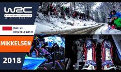 pedal cam Rallye Monte-Carlo 2018