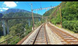 ★ Bellinzona - Göschenen - Wassen Gotthard cab ride [08.2019]
